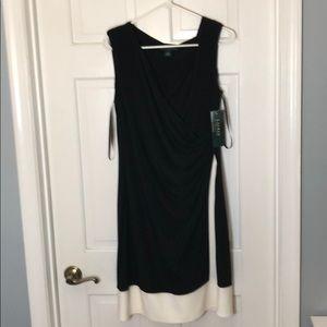 NWT Ralph Lauren faux wrap dress